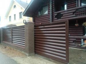 Купить откатные ворота с установкой под ключ | Цены